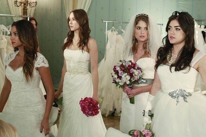 Spencer Hastings, Aria Montgomery, Hanna Marin, Emily Fields