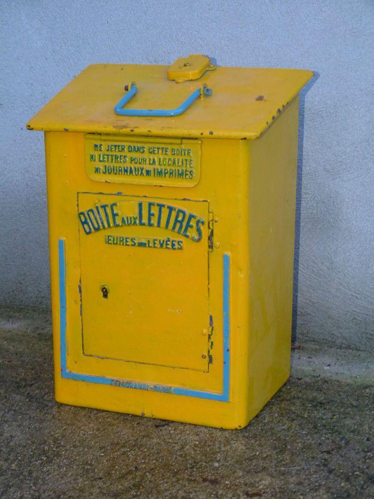 Boite Aux Lettres Mobile De Gare Grand Modele Delachanal Ptt