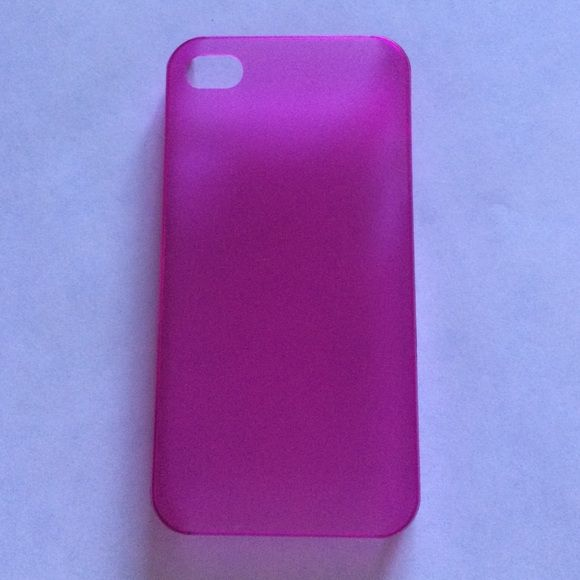 iPhone 4/4s case pink Pink iPhone 4/4s case Other