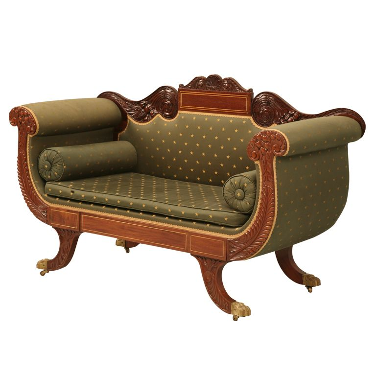 Dream Furniture · Spectacular Original Antique American Empire ...