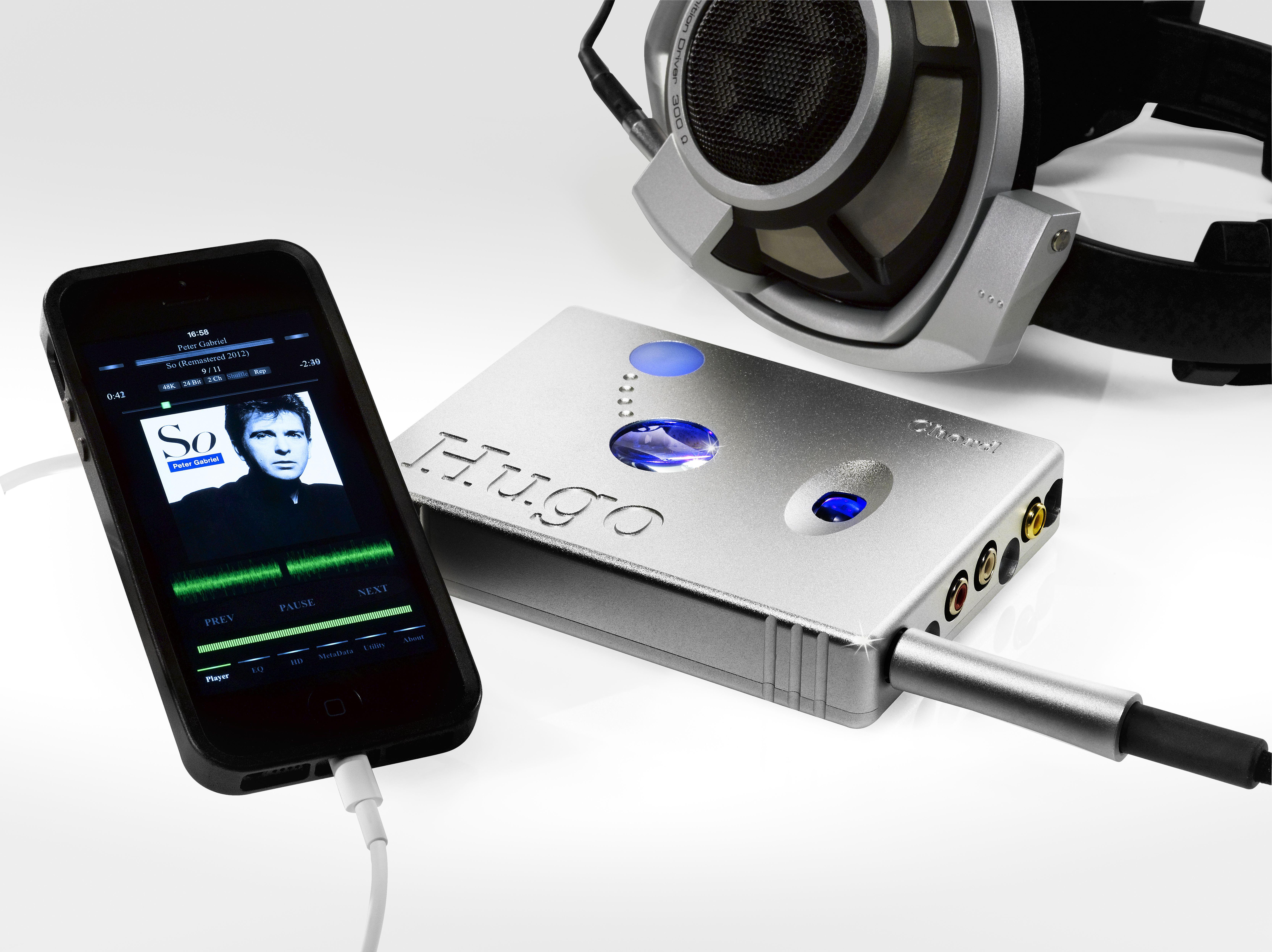 Hugo is a multiawardwinning mobile DAC and headphone