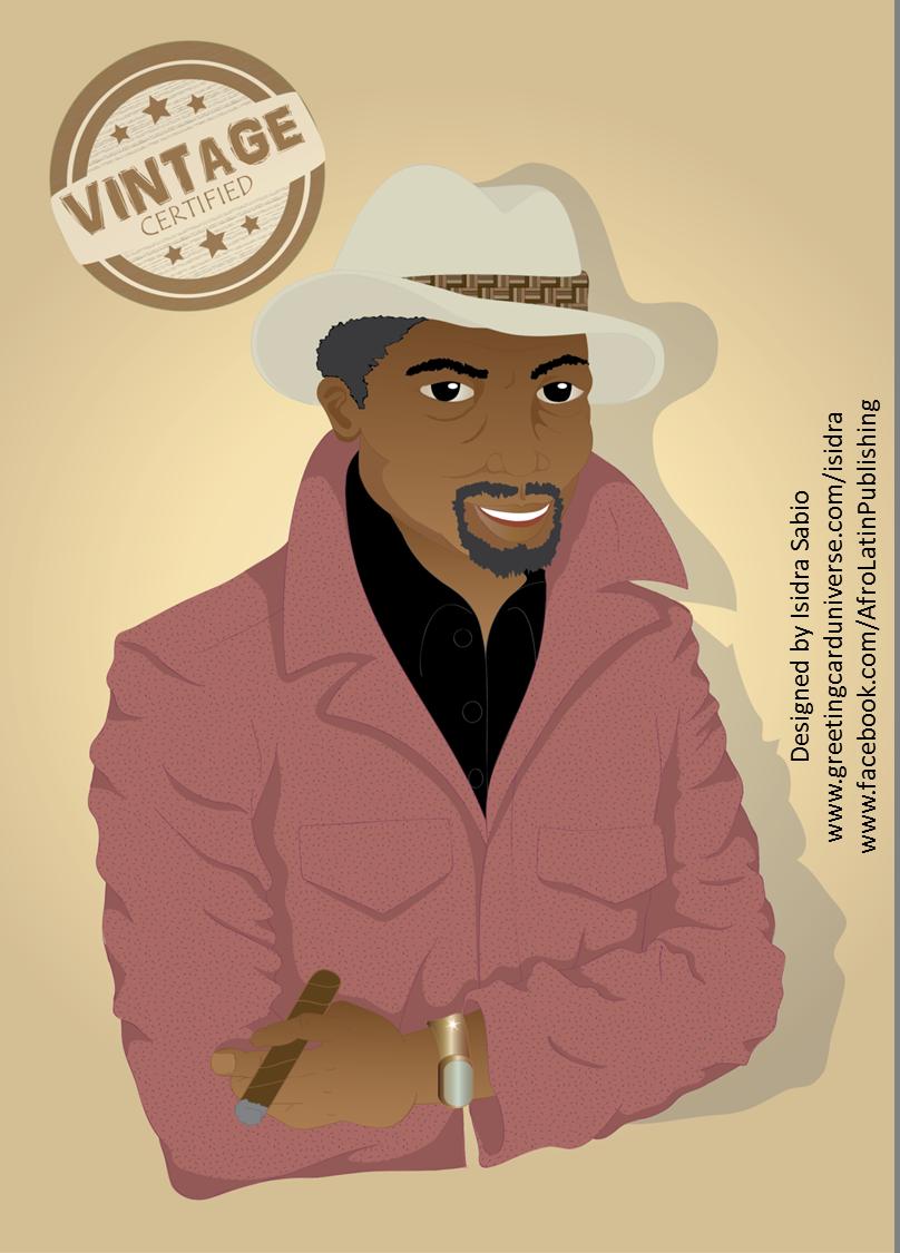 Birthday Card For Men An Older African American Black Man