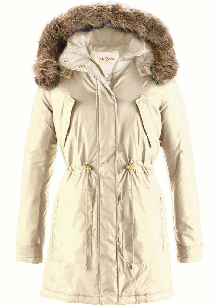 Details Zu Ltb Little Big Parka Damen Winter Mantel Edel Jacke Xs