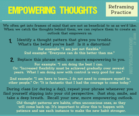 Empowerment Through Reframing