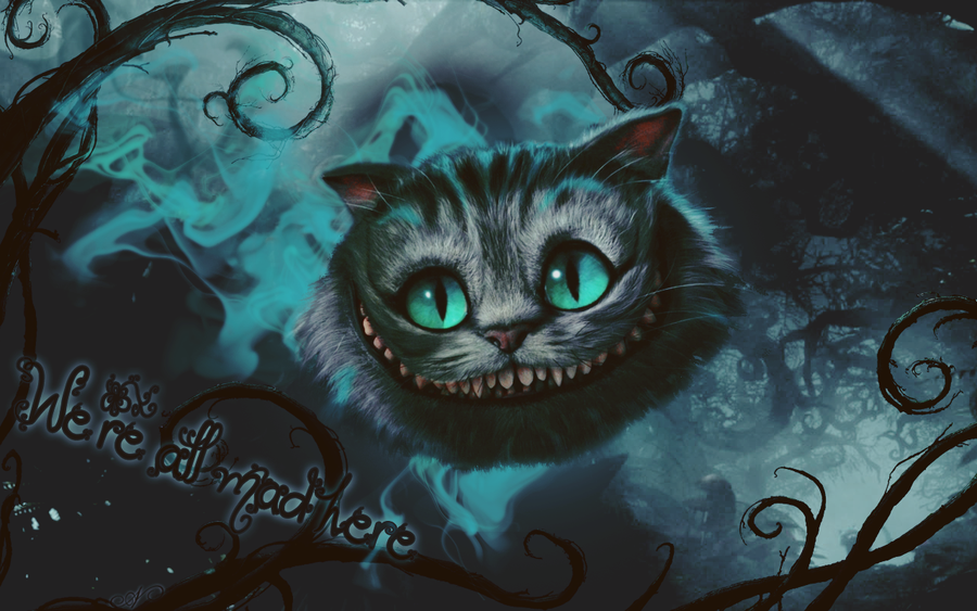 cheshire cat painting | Creative Commons Attribution-Noncommercial-No Derivative Works 3.0 ...
