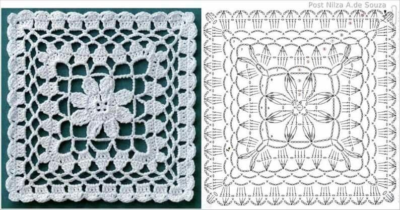 Pin de LiRio dLiRio en grannys crochet | Pinterest