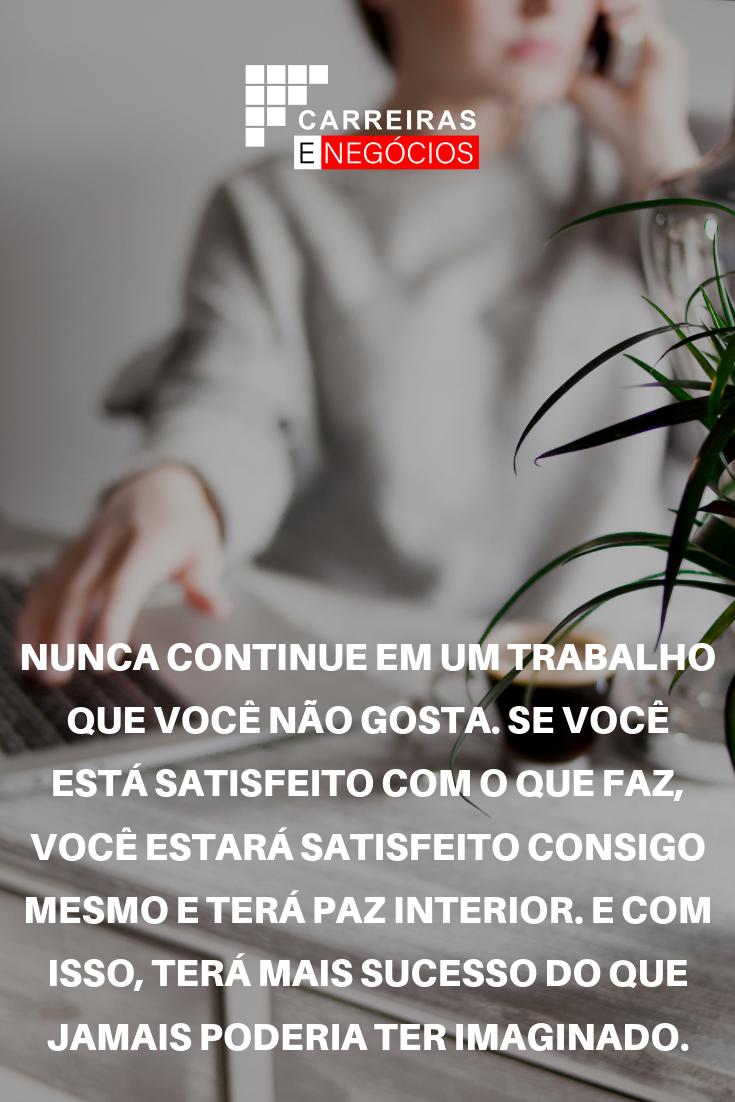 Pin De Carreiras E Negócios Do Brasil Em Frases De Motivação