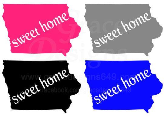 U0027Sweet Home Iowau0027   Design Available Through Grace Designs:  Www.gracedesigns649.