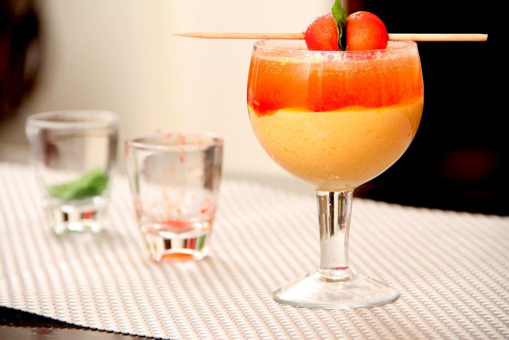 Orange Fantasy Mocktail Mocktail Recipe Mocktails Recipes