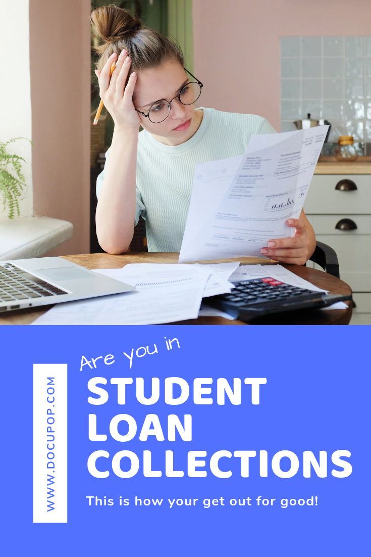 My Student Loans Went To Collections Now What Student Loans Student Loan Default Loan