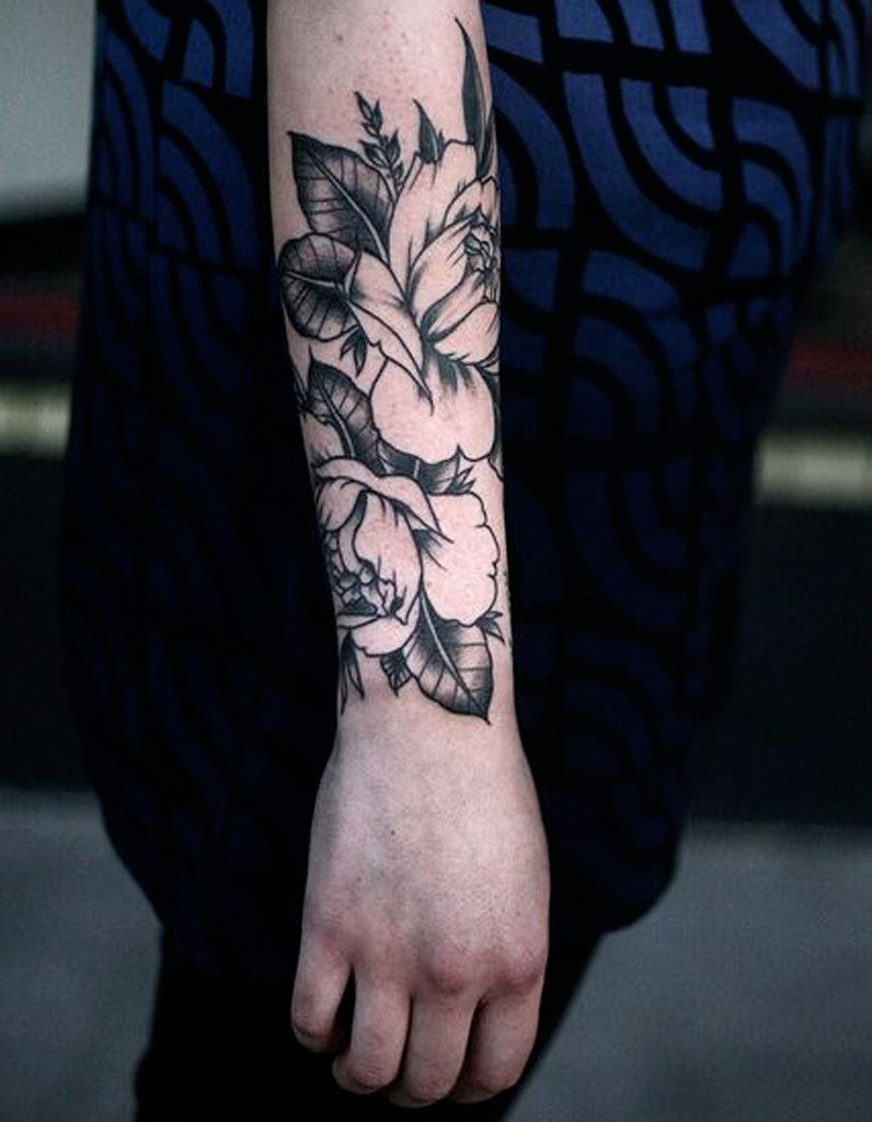 Tatouage Fleur Avant Bras Tatouage Homme Tattoos Flower Tattoos