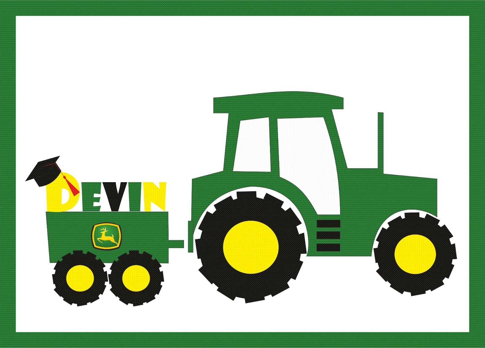 Green tractor clip art john deere clip art free free for Tractor art projects