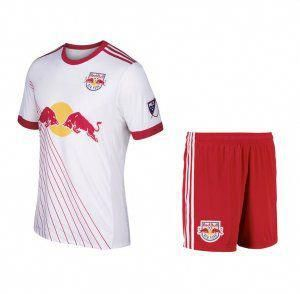 0664bf2c72 New York Red Bulls 2017-18 Season Home MLS Soccer Kit  J885   soccertips