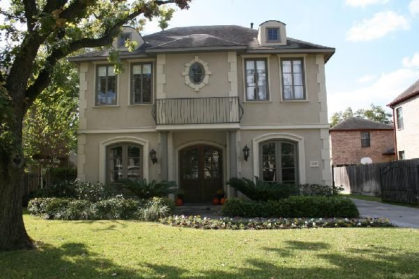 French Chateau Exterior Paint Colors