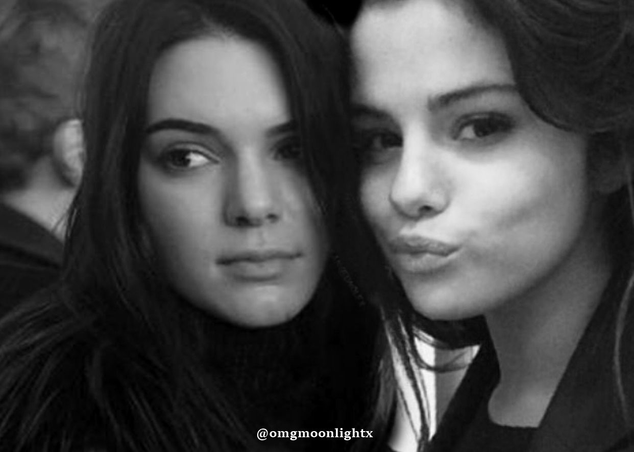 Kendall Jenner and Selena Gomez manip made by me | Kendall Jenner ...
