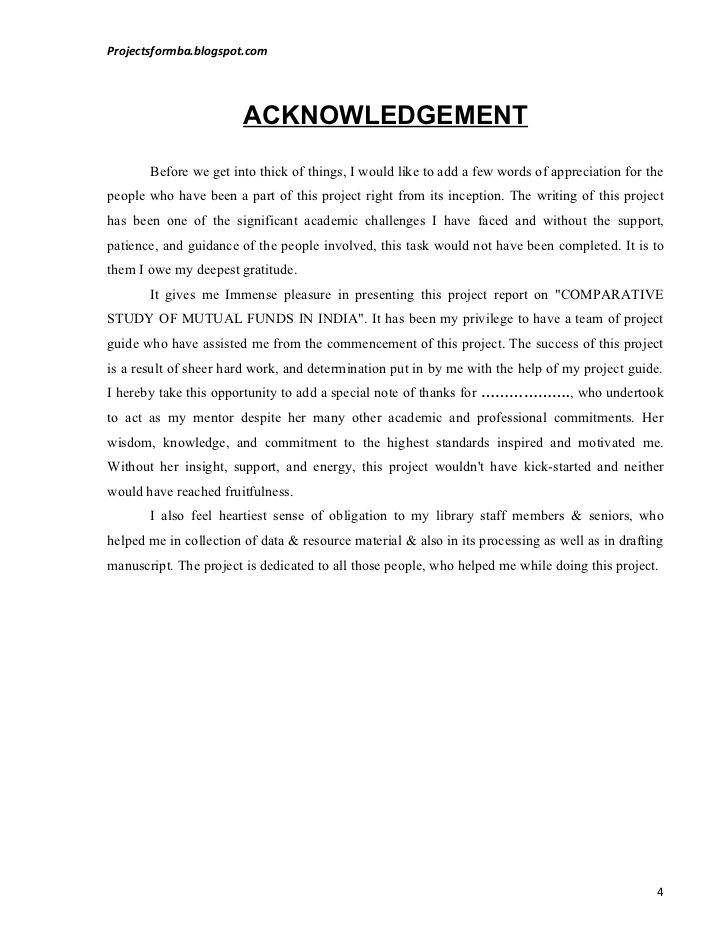 Help with writing a dissertation acknowledgements