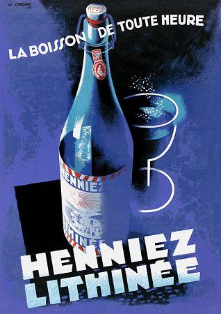 Heinnez Lithenee  1932  http://www.vintagevenus.com.au/collections/drinks/products/vintage_poster_print-d284