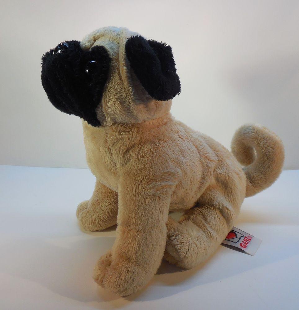 Ganz Webkinz Plush Pug Stuffed Toy Puppy Dog Hl091g Hm105 No