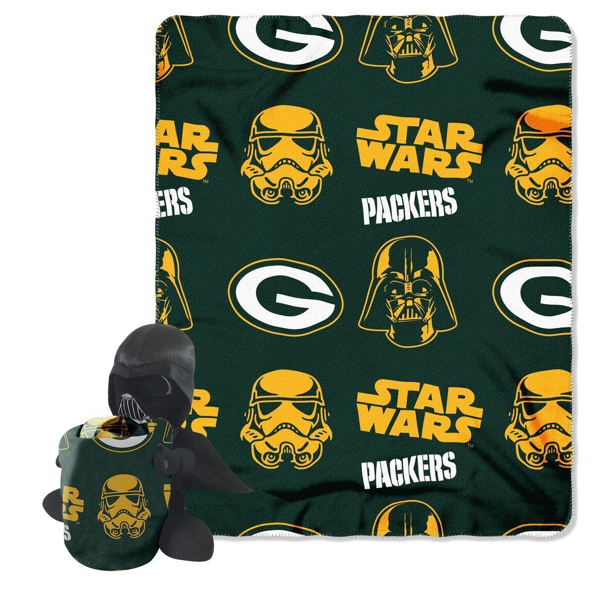 Green Bay Packers Blanket Star Wars Hugger | Pinterest