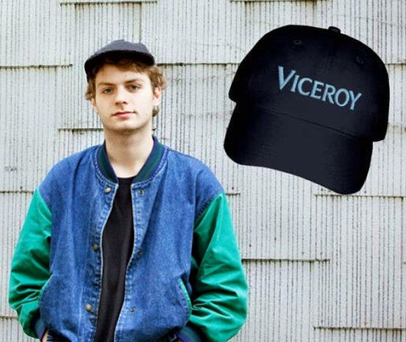 1e4f44b96 Mac Demarco Embroidered Viceroy Cap Black   clothes r wack in 2019 ...