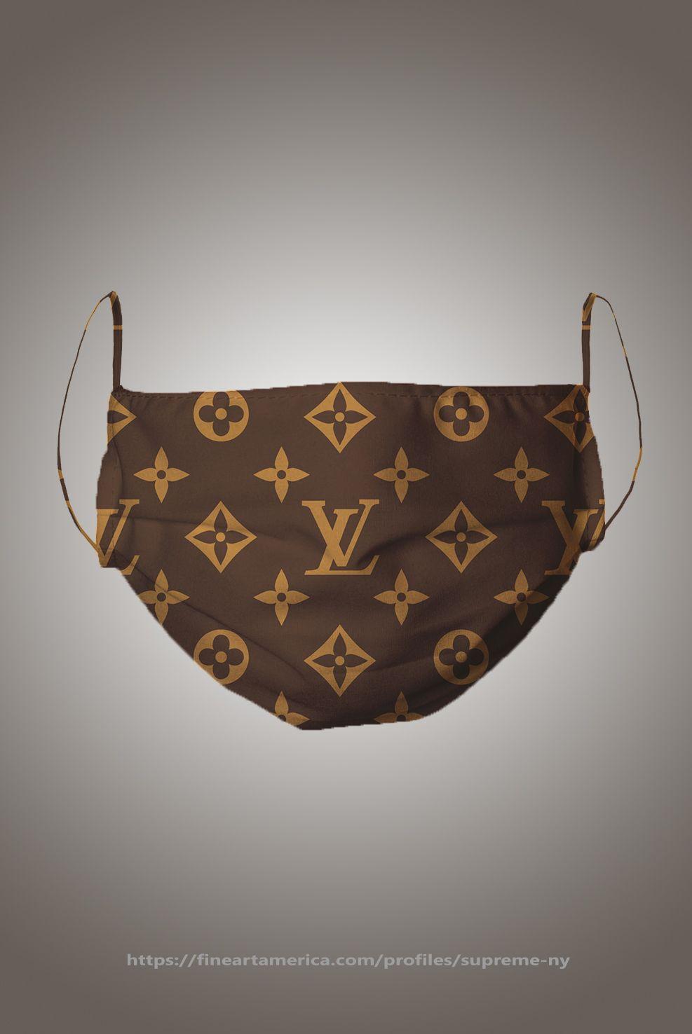 Louis Vuitton Mask brown pattern shop