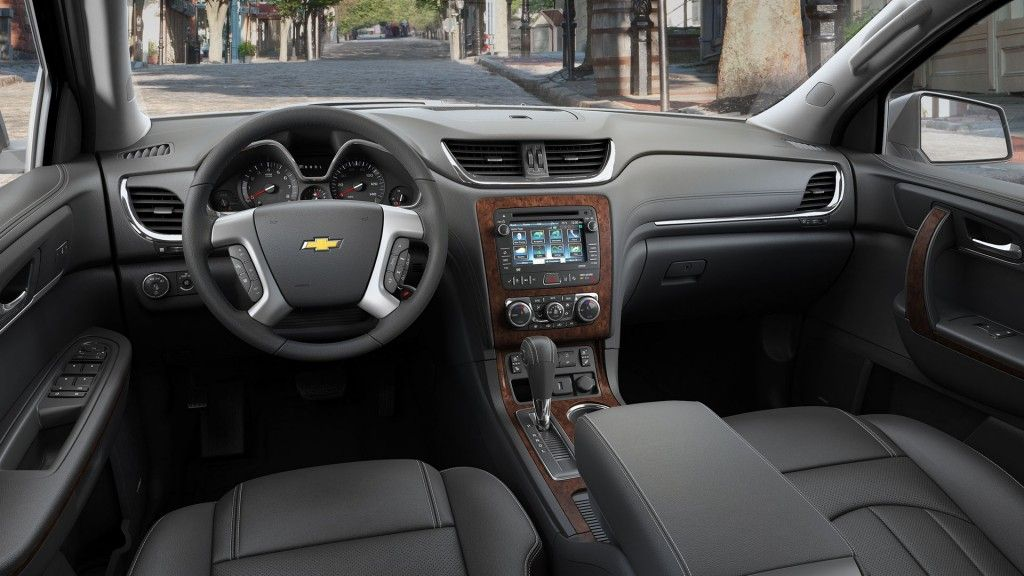 2015 Chevy Traverse interiors | Chevrolet traverse ...