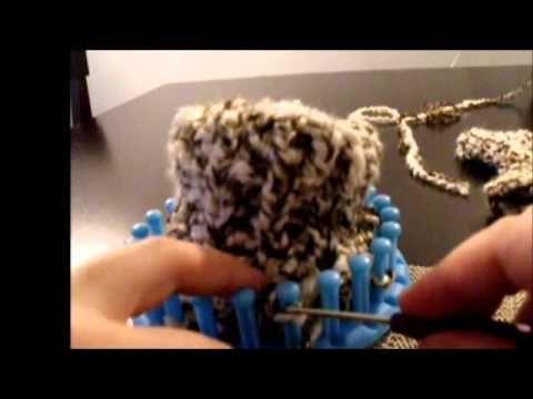 Loom Knit Easy Mittens On A Loom Part 4 Loom Knitting