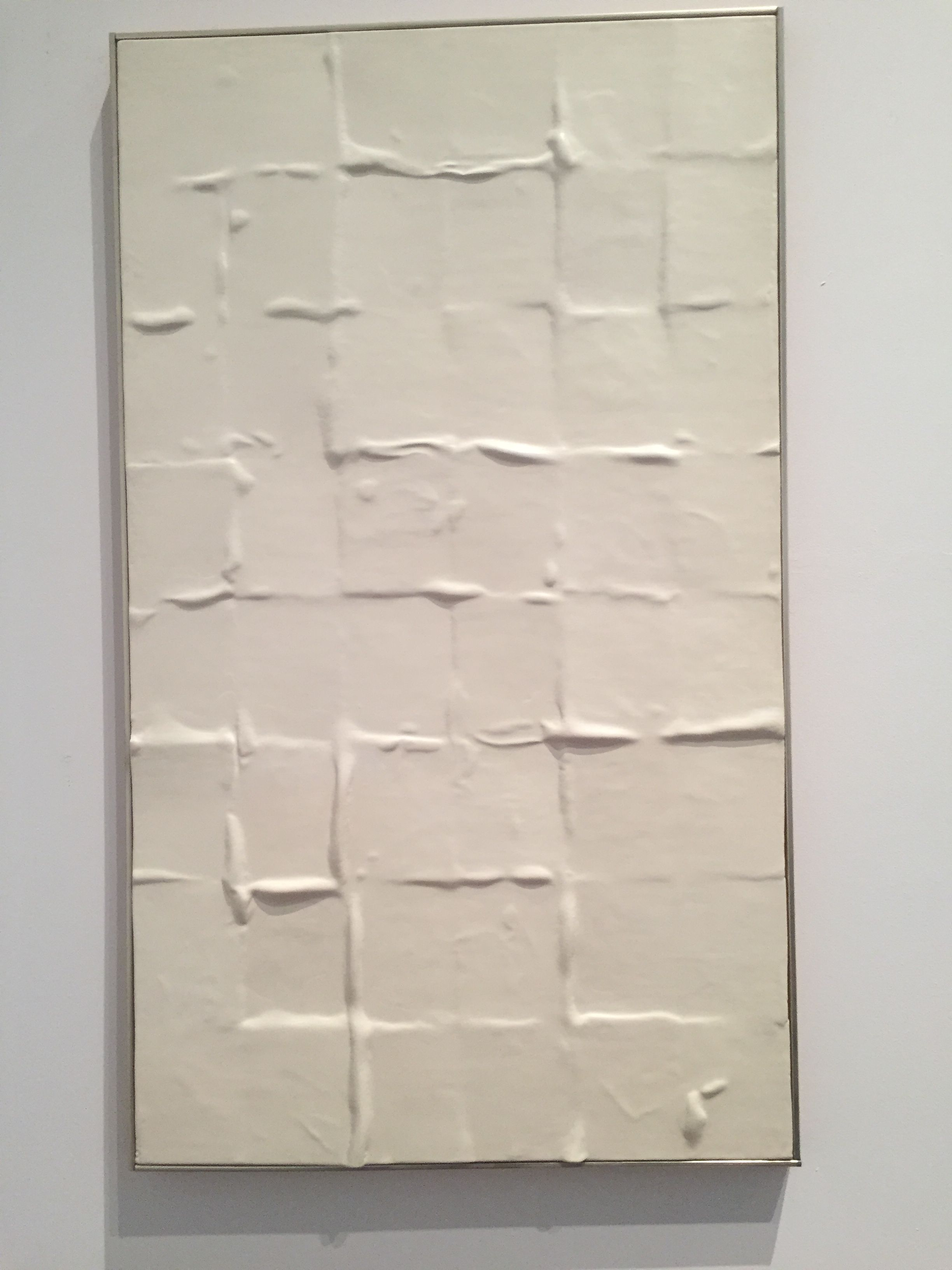Eleanore Mikus Tablet 164 1967-68 epoxy resin on fiberglass