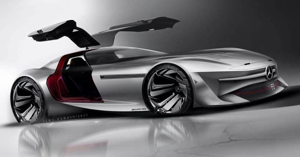 Nima Farzin | Mercedes Benz SLS Behance : www.behance.net ...