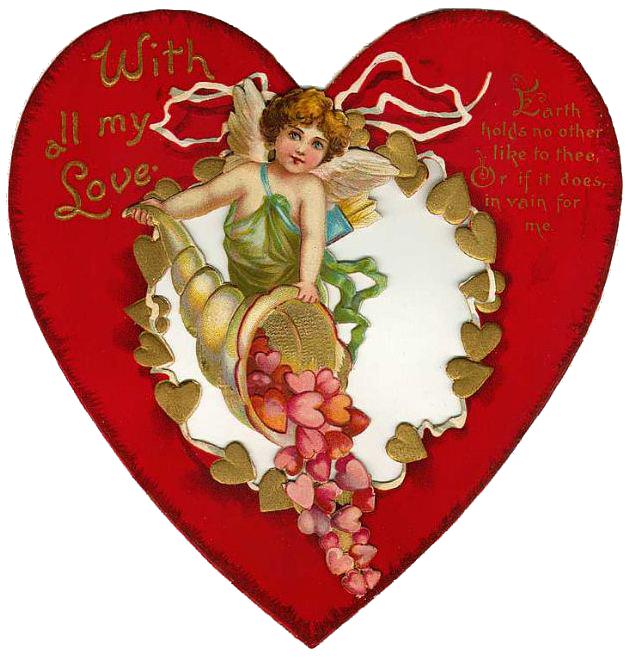 Открытки для печати с дне святого валентина, правильно подписать открытку