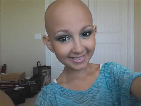 Talia Castellano, 12-Year-Old Cancer Patient, Becomes Online Makeup Expert