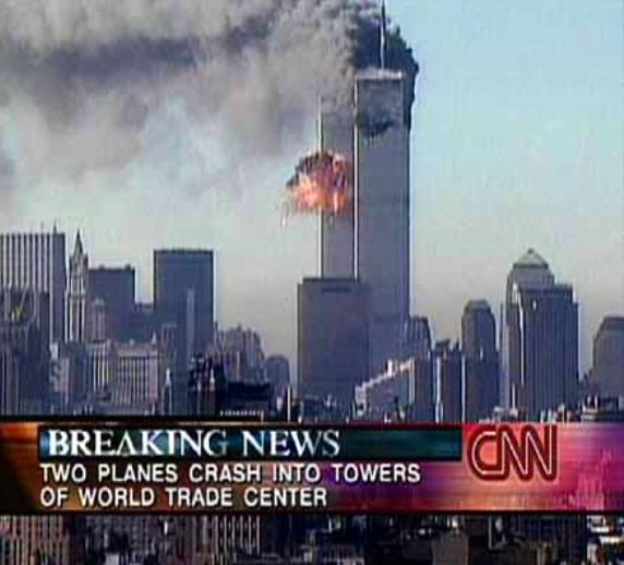what time of day did the twin towers get hit