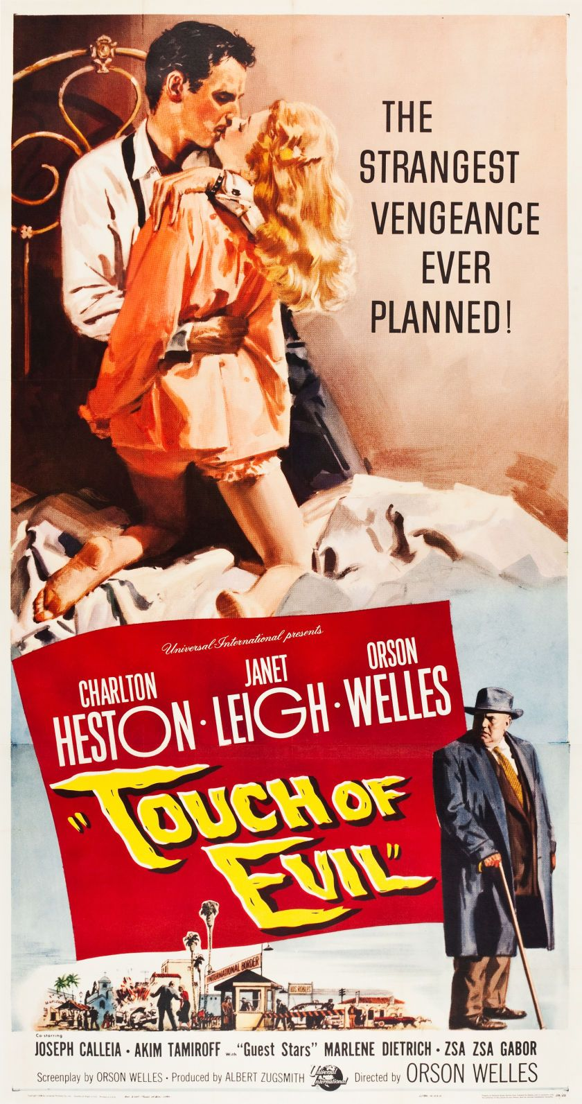 Touch Of Evil   US Three Sheet Movie Poster, 1958   Classic Movie ...