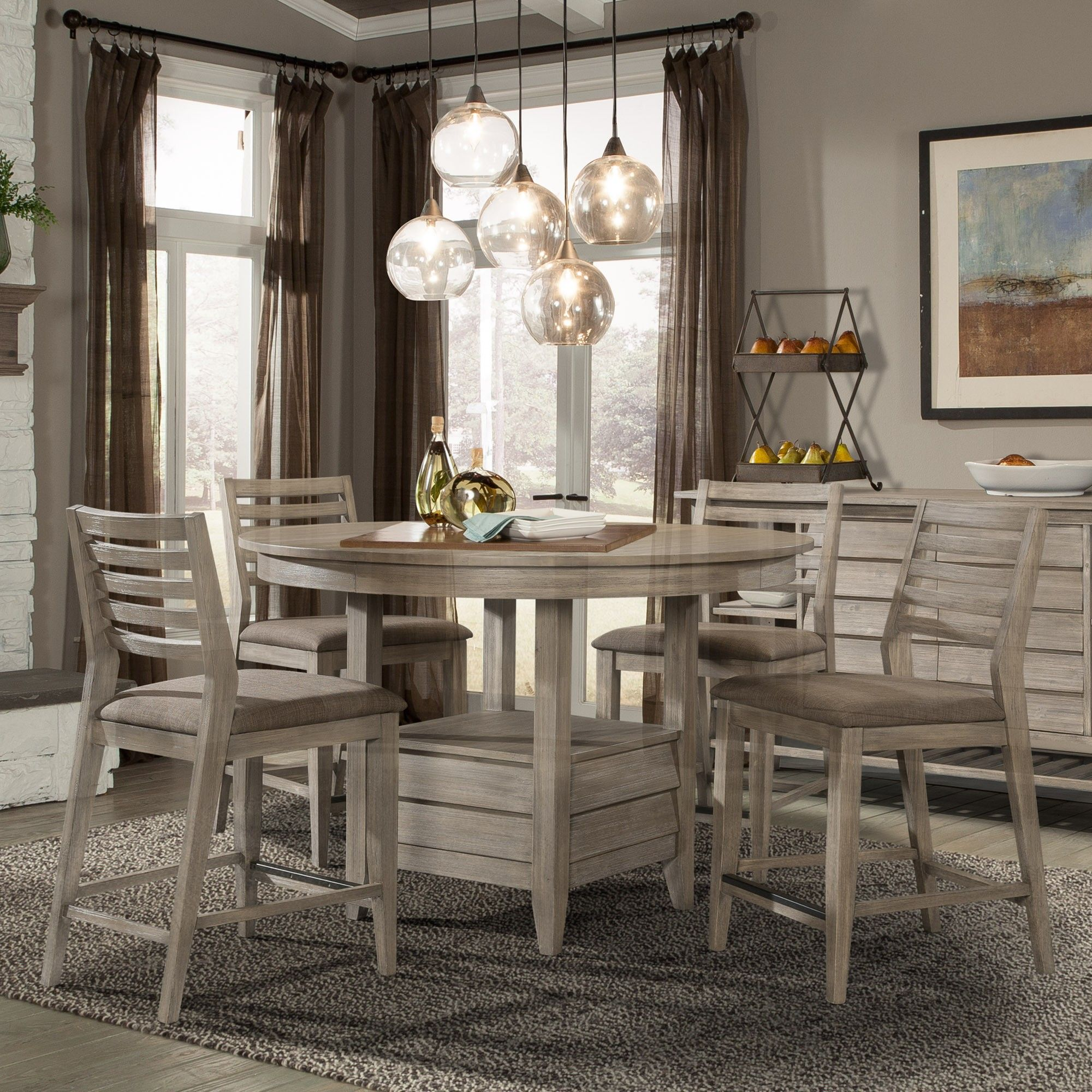 Height Dining Room Table Collection Impressive Corliss Landing Dining Room Collectioncresent Fine Furniture . 2017