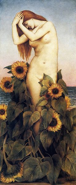 'Clytie',1887 - Evelyn de Morgan