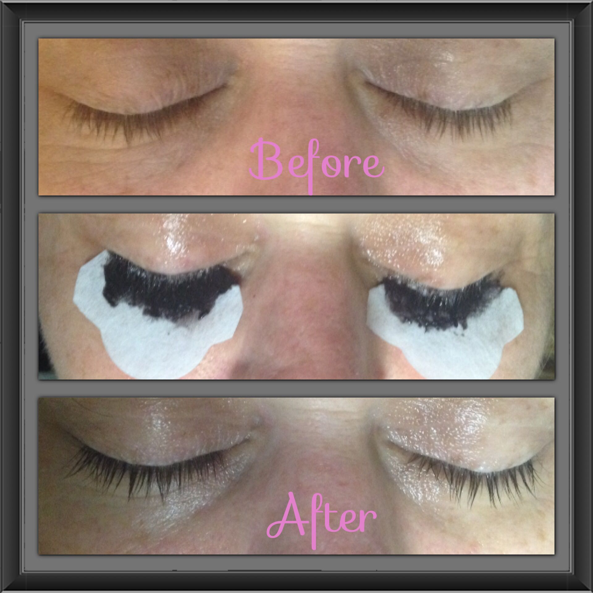 What a transformation! eyelash tinting will make your eyes stand ...