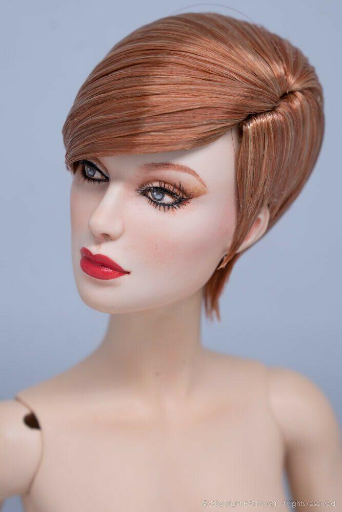 Avant-garde #16.R108 DOLL WIG for Sybarite V1 V2 the Numina Doll by Patta