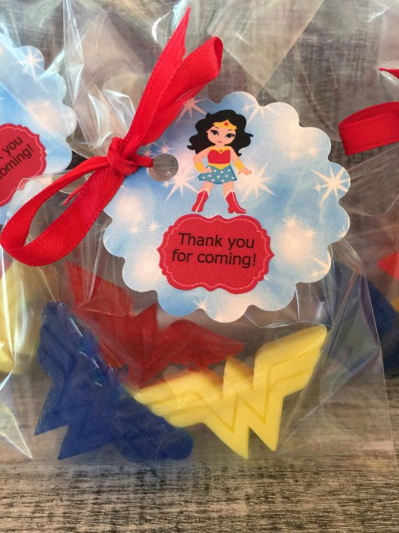 Wonder Woman Soap Party Favors: Baby Shower by sweetsoaptreat