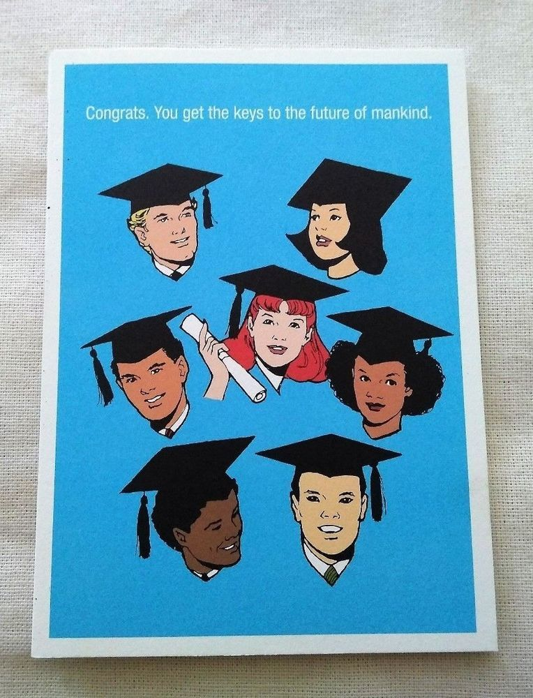 Graduation greeting card unused new funny humorous future dont f it graduation greeting card unused new funny humorous future dont f it up seltzer m4hsunfo
