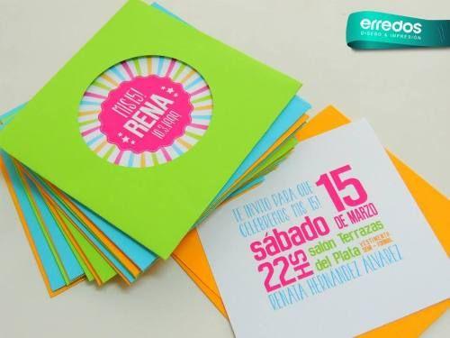 Pin De Zulema González En Arte Con Papel Invitaciones De