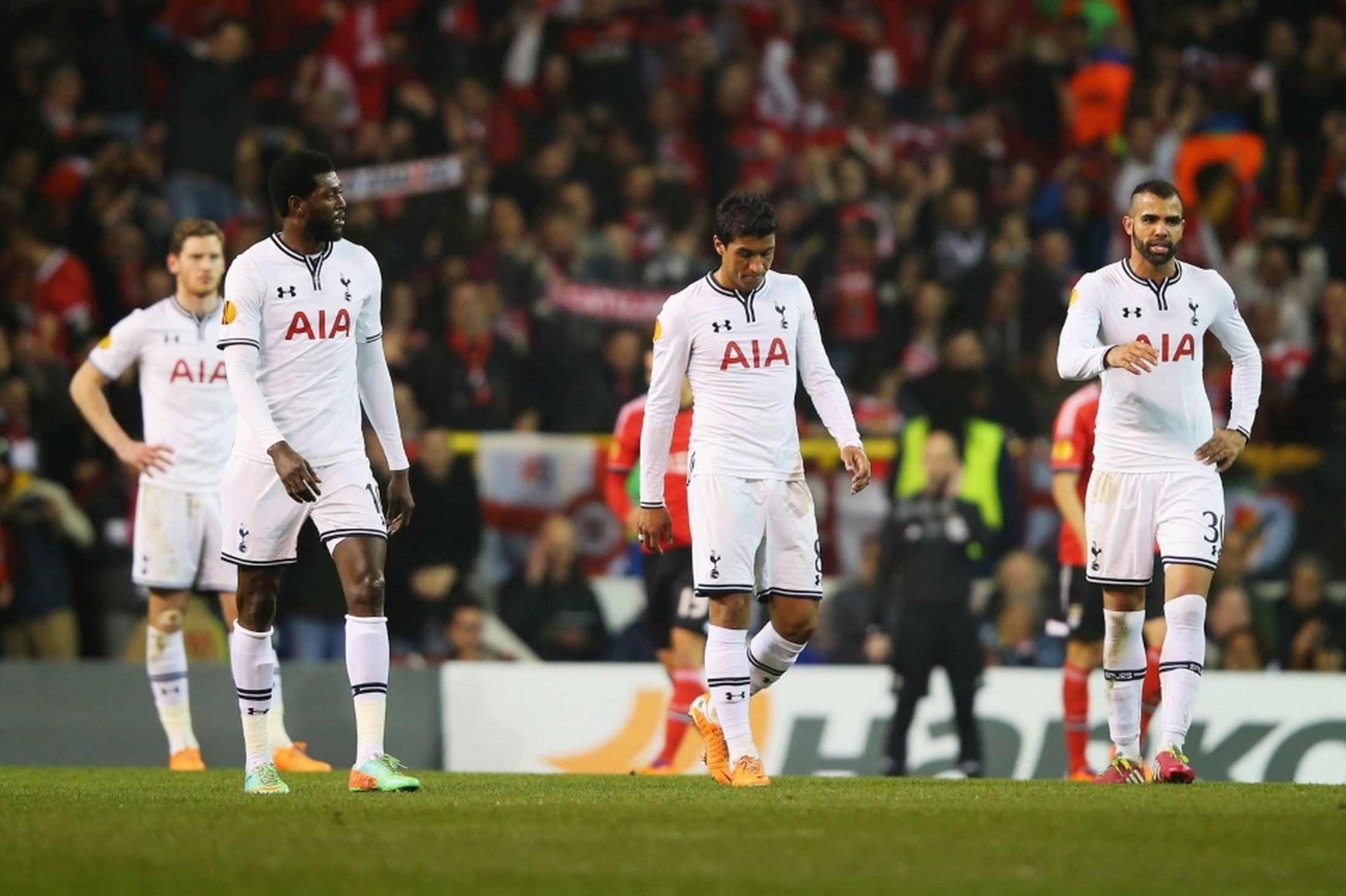 Image result for tottenham hotspur lose