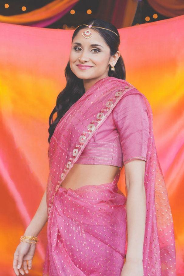 Vintage pink sari, shot by Hazelwood Photo. @Hazelwood Photo Wedding ...