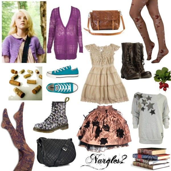 Luna Lovegood By Vintagechic93xo On Polyvore Featuring