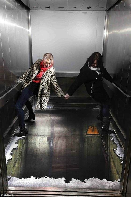 Bonito ascensor
