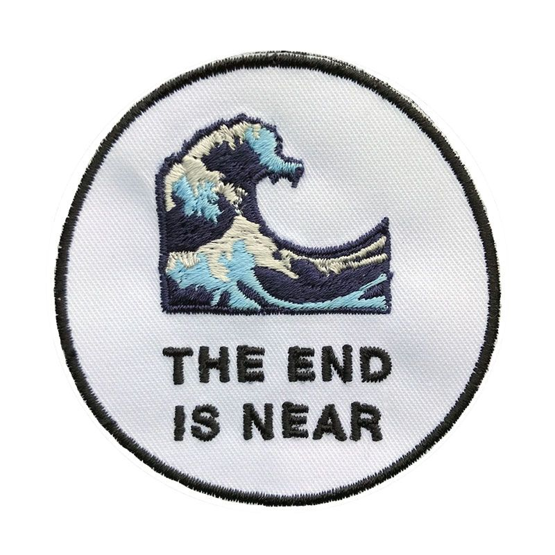 THE END IS NEAR PATCH via EXISTENTIAL EMOJI. Click on the