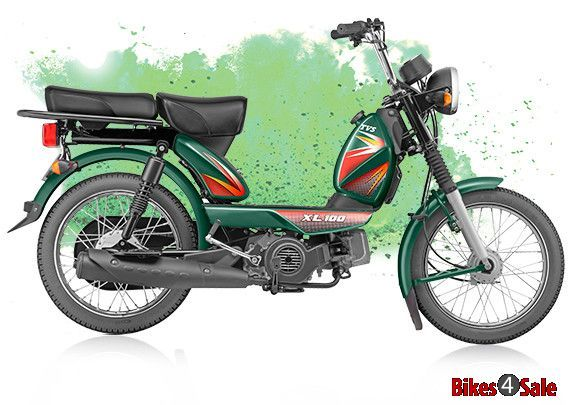 Tvs Xl 100 Tvs Fuel Economy The 100