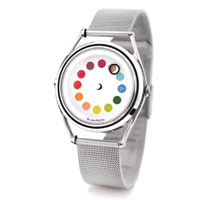 Mr Jones Color Wheel Watch Cool Watches Watch Design Jones Watch