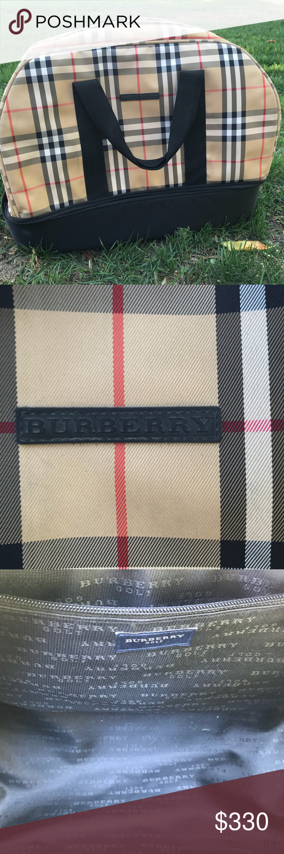 Burberry Gold Bag Great condition Burberry Golf Bag. This bag is in amazing  condition. e59b1e225e88b