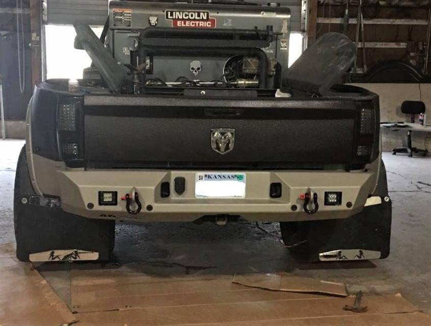 That S What I M Talking About Dodge Cummins 4thgen Dually Bumper Custom Trucks Truck Bumpers Welding Trucks