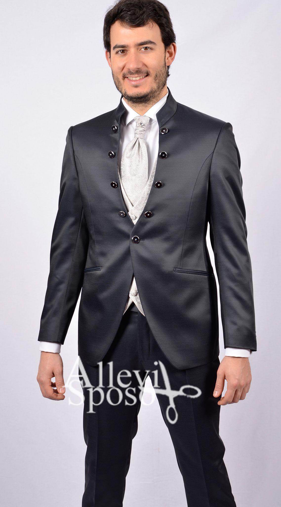 9410550d6c28ca Abito da sposo blu coreana cerimonia tipo petrelli linea Allevi Sposo.  negozio abito da sposo